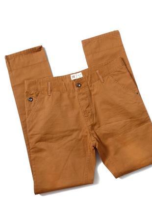 Новенькі чоловічі котонові штани  louis james    котон 100% 34 pозмір пот 46 до 47 тянеться поб 55 до 57 тянеться  довжина 110 шаг 84 ( підкочуються)