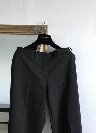 Классические прямые брюки шерсть