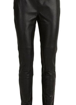 Кожаные штаны  лосины selected