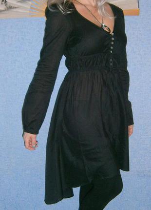 Платье\туника с асимметричным низом разм.м-л