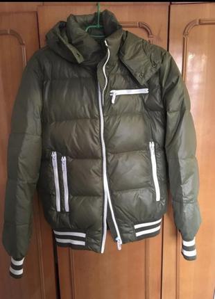 Куртка мужская зимний пуховик тёплый