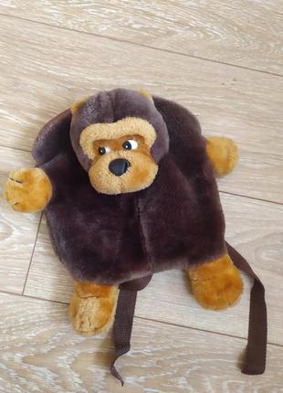 Рюкзак- мавпочка/ мягкий рюкзак- мартышка