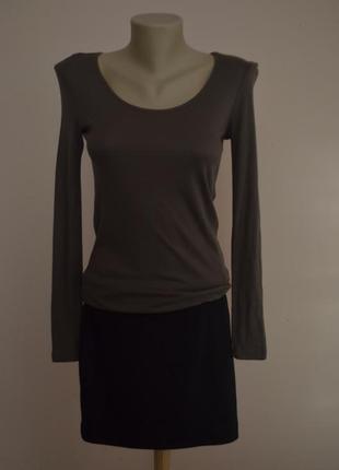 Удобное теплое мини платье шерсть новое