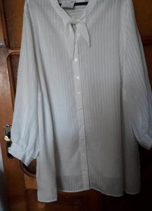 Блузка новая пог 82 см