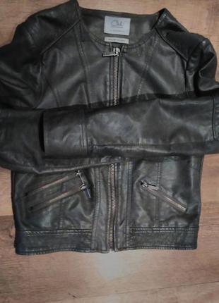 Крутая куртка из кожзам