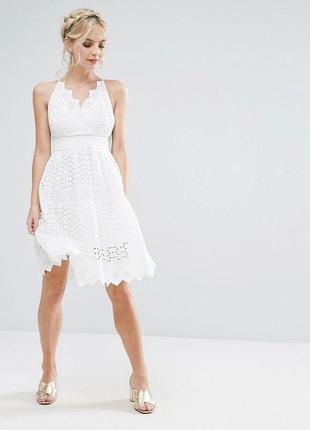 True decadence для asos ажурное белое платье