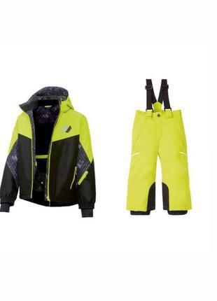 Мембранный лыжные костюмы для деток полукомбинезон и куртка crivit