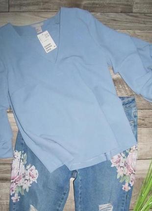 H&m нежная блуза р. 12