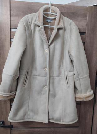 Пальто, дубльонка искуственная