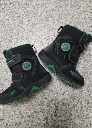 Зимние сапоги зимові сапоги ботинки термо b&g