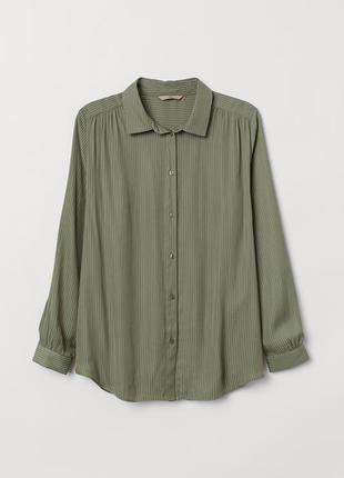 Блуза в смужку h&m - максимальний sale до 01/11