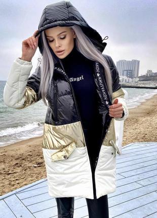 Жіноча парка куртка krutyakov