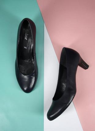 """Брендовые туфли лодочки """"gabor"""". размер uk7,5/ eur40-41."""