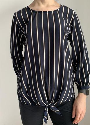 Блузка женская в полоску, красивая блуза.  полосата, стильная piece pace.