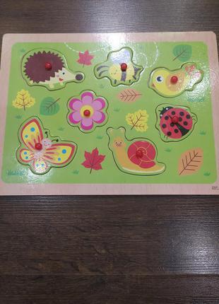 Детская игрушка сортер деревянный сортер для малышей