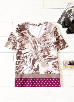 Betty barclay_стильная футболка в принт_супер качество