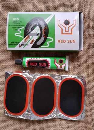 Набор вулканизированных резиновых заплаток для ремонта шин № 12