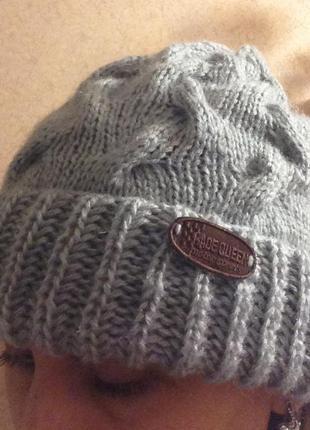 Тёплая шапочка handmade