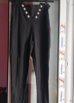 Крутые штаны с высокой талией chiara forthi milano италия