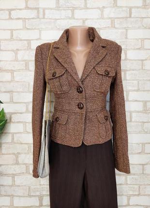 Фирменный tally weijl мега тёплый пиджак/жакет на 50 %шерсть, размер хс-с