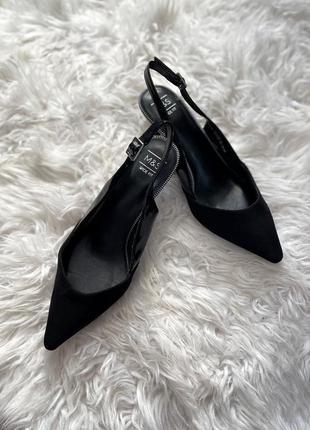 Идеальные чёрные туфли лодочки 1+1=3