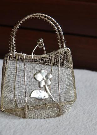 Аксессуар для хранения бижутерии сумочка