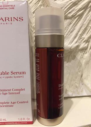 Double serum комплексная омолаживающая двойная сыворотка купить