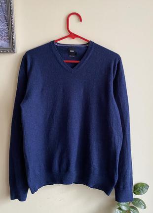 Шерстяной джемпер, светр, теплий джемпер л р. brice