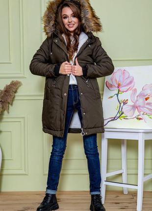 Снова в наличии!!!зимняя удлинённая тёплая куртка для стильной девушки- 44 46 48 s m l xl