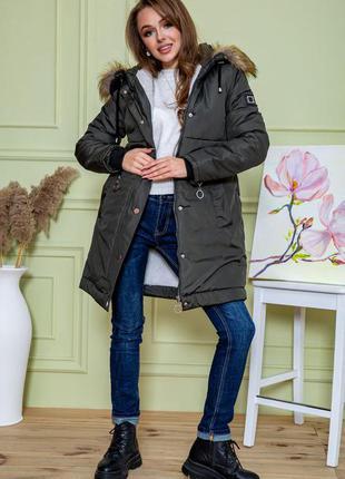 Новинка цвет!!! тёплая зимняя свободного покроя куртка с капюшоном 42 44 46 48 s m l xl