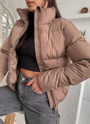 Куртка зимняя короткая