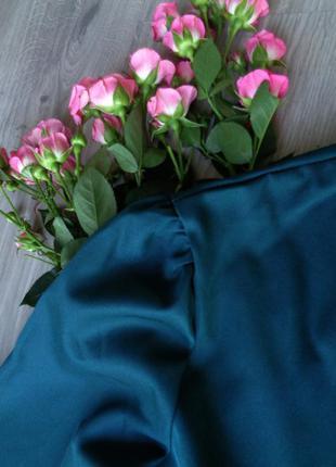 Изумрудное пышное платье {есть размеры и расцветки}4 фото