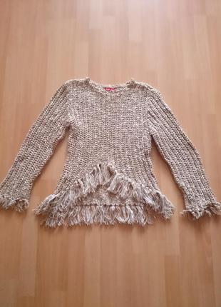 Вязаный свитер джемпер h&m