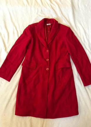 Срочная распродажа! красивое красное пальто на осень