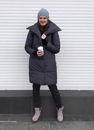 Пуховик пальто зимнее ( одеяло, зефирка)