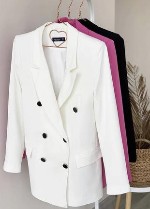 Ограничено! двубортный пиджак жакет на подкладке