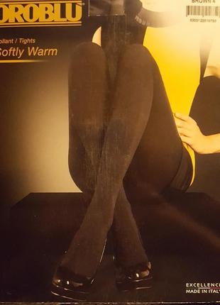 Шикарные теплые колготки с хлопком премиум-класса oroblu softy warm (италия)