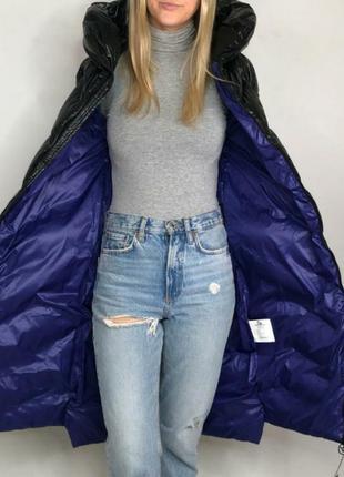 Зимний дутый пуховик, пальто,с эфектом лака,блестит,количество ограничено ⚠️
