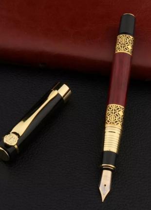 Металлическая перьевая ручка , чернильная перьевая бизнес ручка