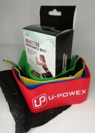 Фитнес резинки набор для фитнеса 5 шт. латексные