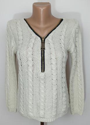 Джемпер свитер итальянский стильный мохер шерсть s