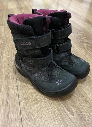 Ботинки еко детские зимние