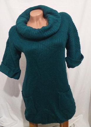 Мягенький свитер,  туника. (6292)