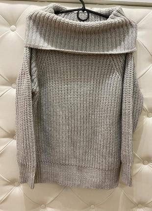 Объёмный свитер reserved basic размер s-m