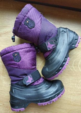 Непромокаемые зимние сапожки сноубутсы