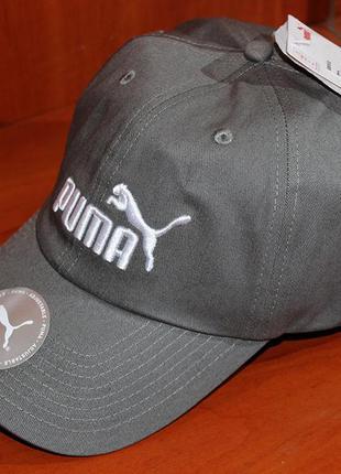 Кепка puma - блайзер, бейсболка оригінал унісекс 022416 32 сіра