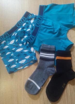 Набір боксери трусики +шкарпетки cozzi  98-104 3-4 роки