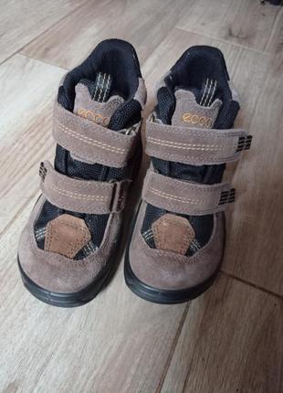 Ботинки черевички ecco gore-tex 28р.