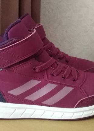 Adidas 35р(21,5-22см)утеплені, осінньо-зимові кросівки, кеди