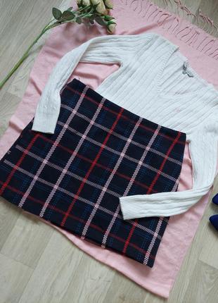 Тёпленькая юбка р 40-42